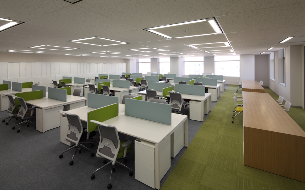 Manulife life insurance company shinjuku office works for Office design group inc